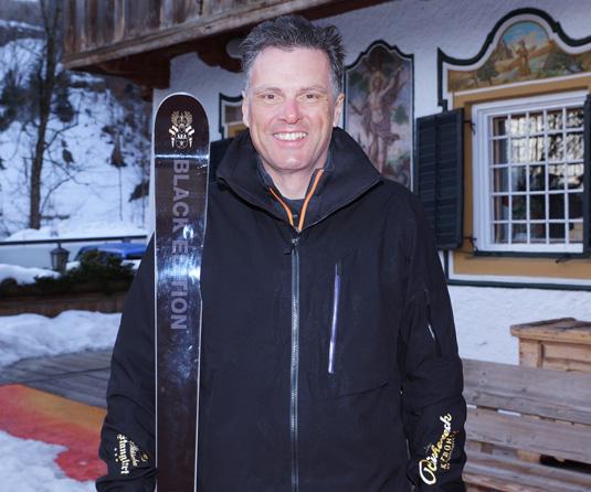 Behinderten Skilauf